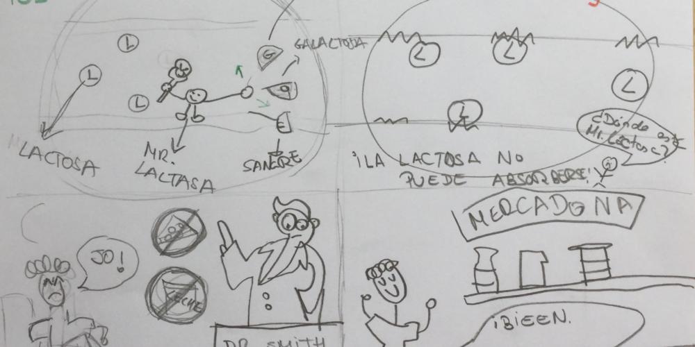 Intolerancia a la lactosa - Chema Arcos, Mireia Pons y Raquel Martínez